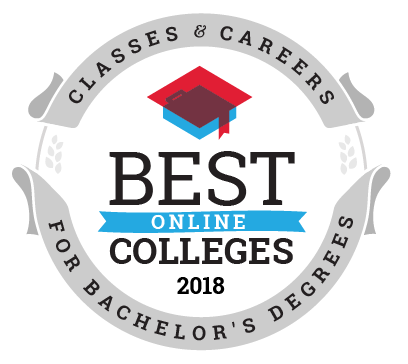Best Online Colleges for Bachelor's Degree Programs ranking seal