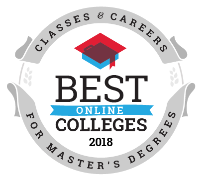 Best Online Colleges for Master's Degree Programs ranking seal
