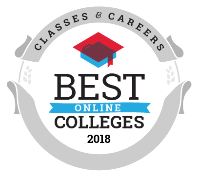Best Online Colleges for Online Degree Programs ranking seal