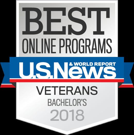 Best Online Veterans Programs 2018 seal