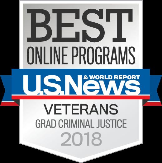 Best Online Veterans Criminal Justice Programs 2018 seal