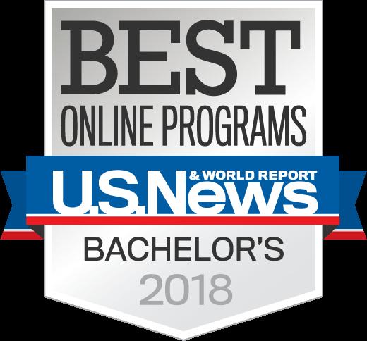 Best Online Bachelors 2018 seal