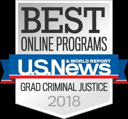 Best Online Criminal Justice Programs 2018 seal