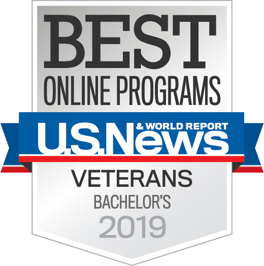 Best Online Veterans Programs 2019 seal