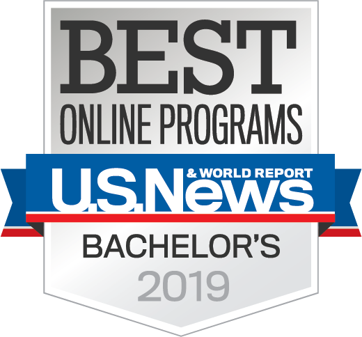 Best Online Bachelors 2018 seal
