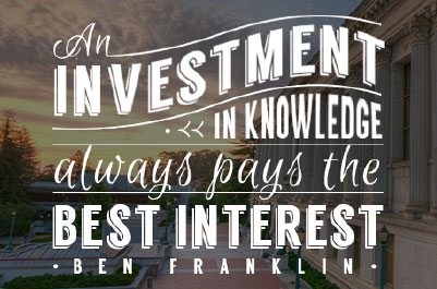 Investment in knowledge always pays the best interest. - Ben Franklin